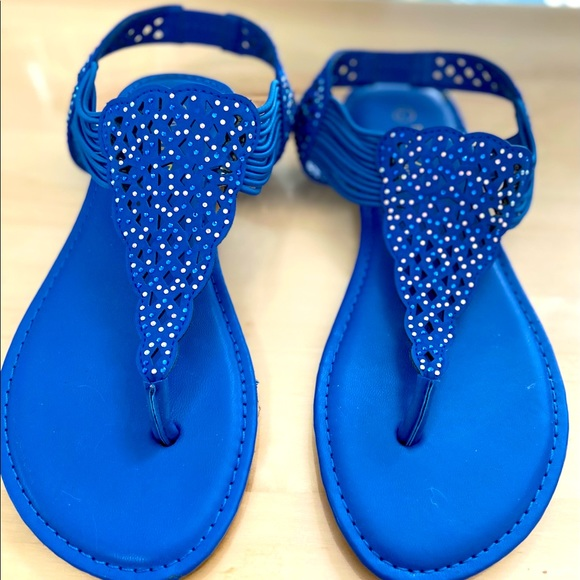 Rouge Helium Shoes | Womens Royal Blue